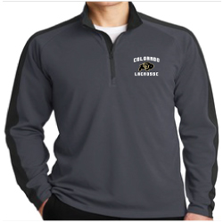 CU Lacrosse Mens Embroidered Sport-Tek 1/4 Zip Pullover