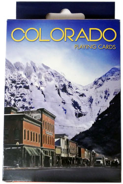 Colorado Avalanche in Telluride Playing Cards