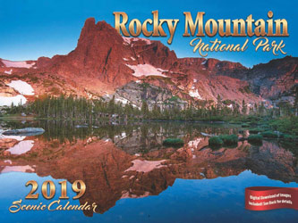 2019 Rocky Mountain National Park Spiral Calendar