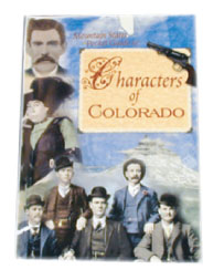 Characters of Colorado 4X6 inch Pocket Guide Book