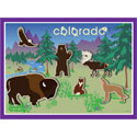 Colorado Kid's Forest Animal Puzzle