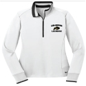 Ladies Embroidered 100% Poly 1/2 Zip Pullover