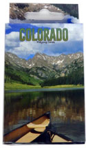 Colorado Canoe Playing Cards